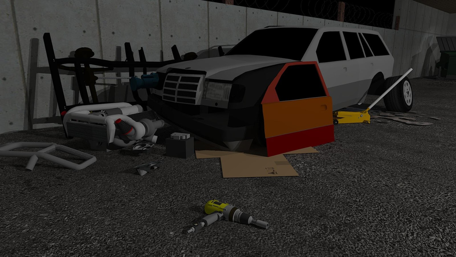 Fix My Car: Zombie Survival v2
