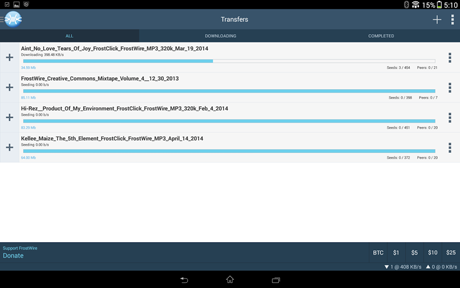 FrostWire – File Downloader v1.3.7