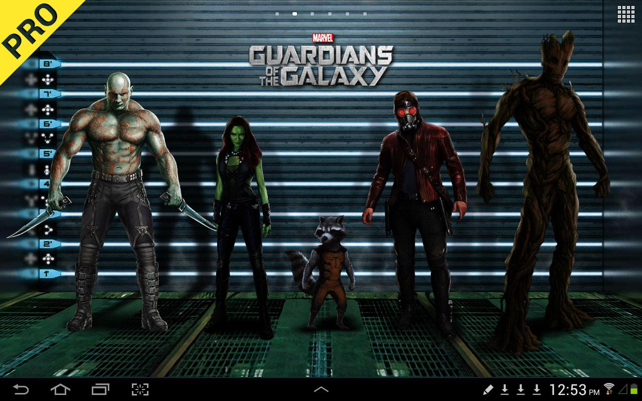 Guardians of the Galaxy LWP (Premium) v1.01
