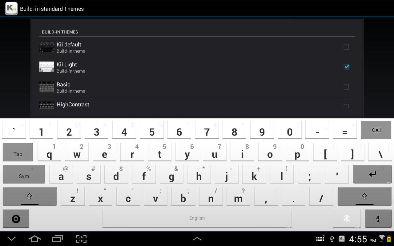 Kii Keyboard v1.2.23r2