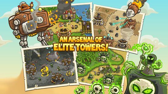 Kingdom Rush Frontiers v3.0.33 + data