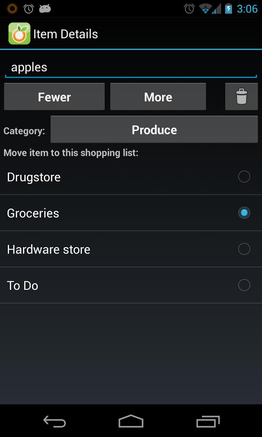 Our Groceries Shopping List FULL v2.5.2