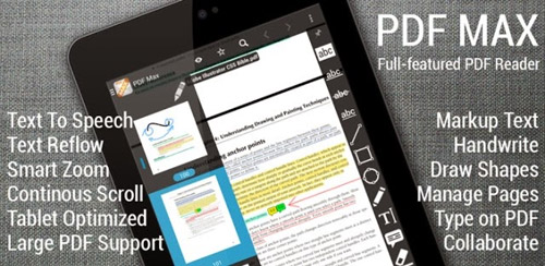 The PDF Expert for Android v4.0 – PDF Max