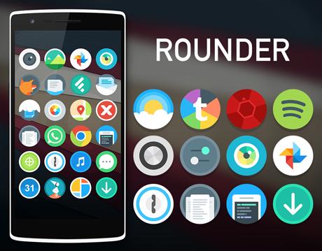 Rounder L iconpack v1.5.6