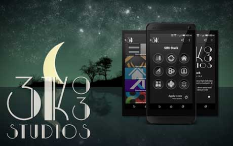 3K SR BLACK – Icon Pack v1.3.3