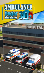 تصویر محیط Ambulance Rescue Simulator 3D v1.5
