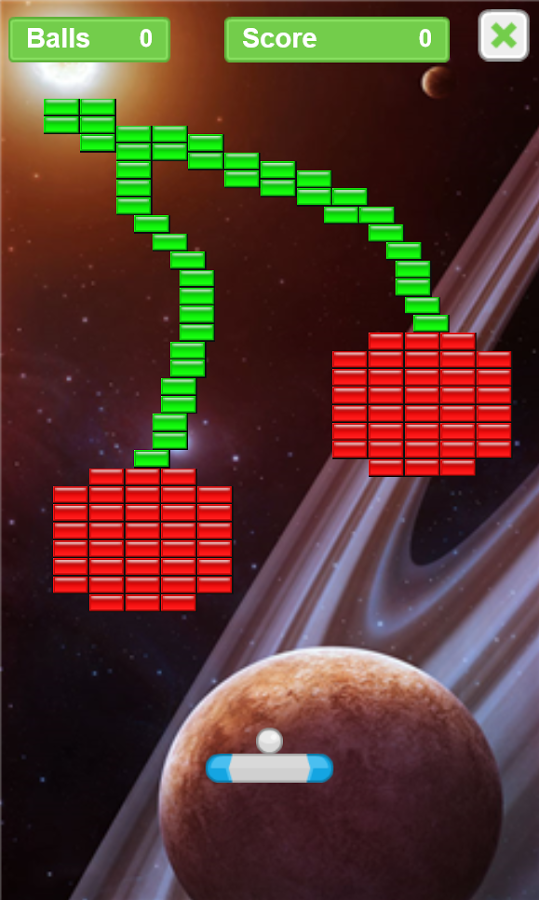 Arkanoid – Bricks in Space v1.0