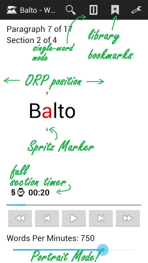 Balto Speed Reading v3.7d