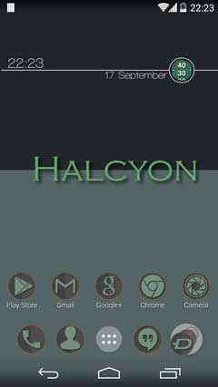 Halcyon Icons Icon Pack v1.0.1