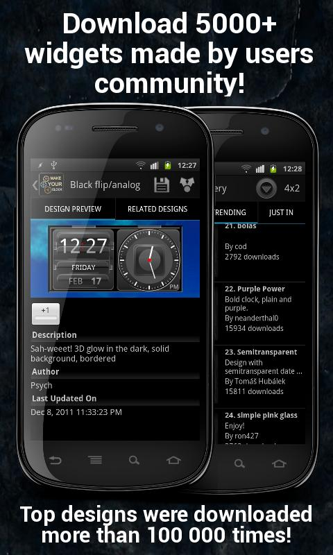 Make Your Clock Widget Pro v1.4.5