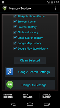Android Memory Toolbox pro v1.7