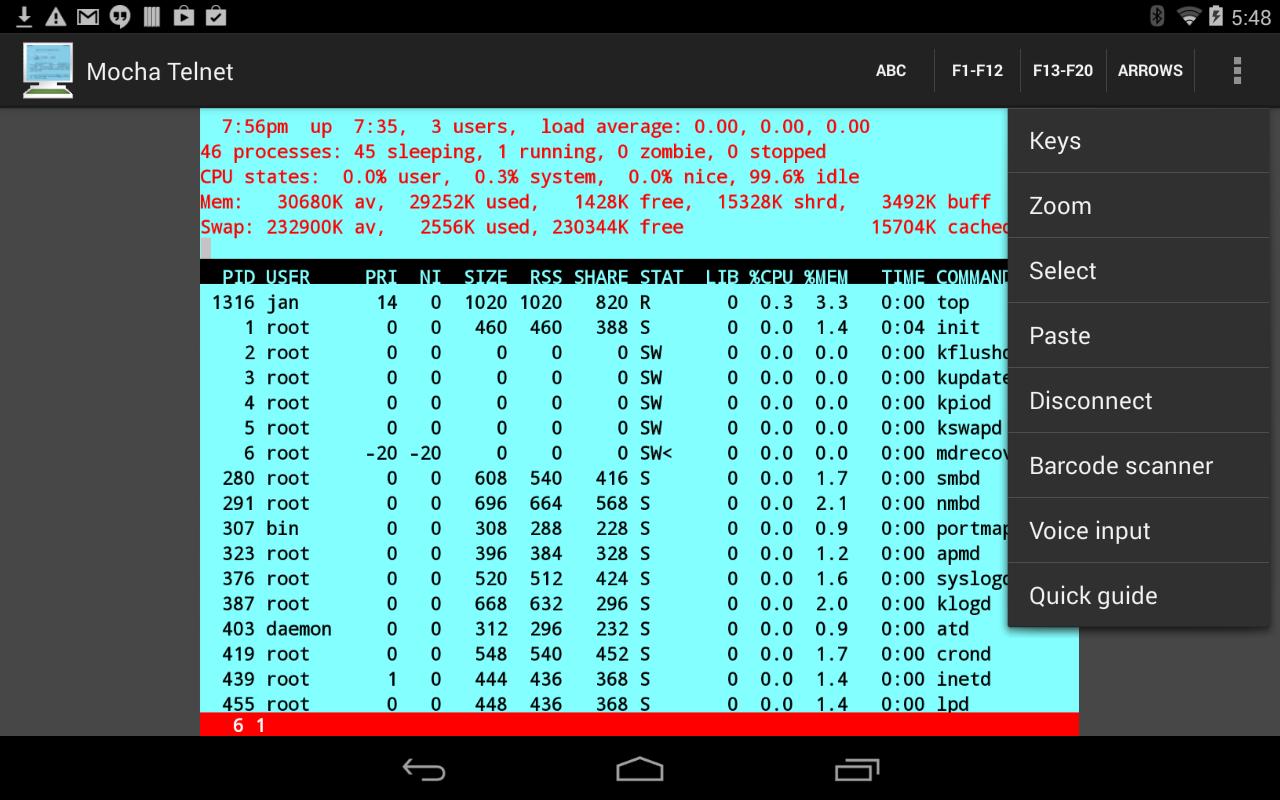 Mocha Telnet Full v2.1
