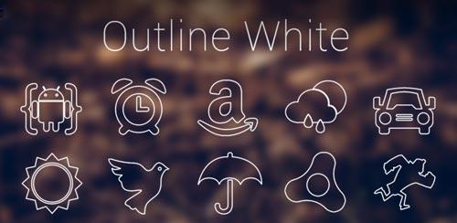 Outline White Apex Nova Holo v4.1