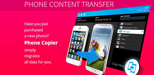 دانلود نرم افزار اندروید Phone Copier v3.0.2