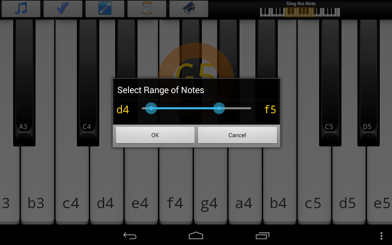 Piano Ear Training Pro v87 Material Design