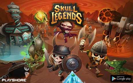 Skull Legends v1.3.2 + data