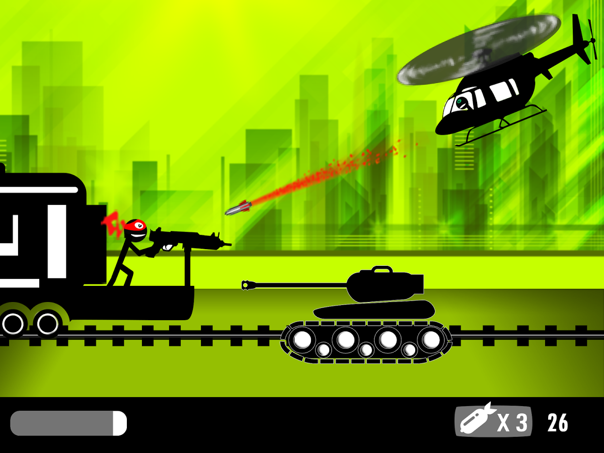 Stickman Train Shooting v1.2.4