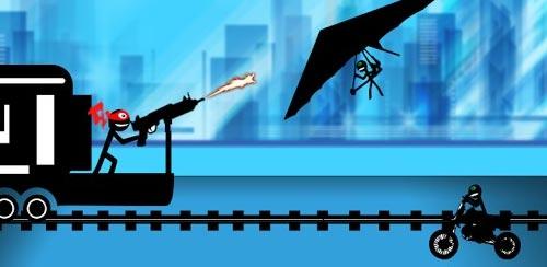 Stickman-Train-Shooting