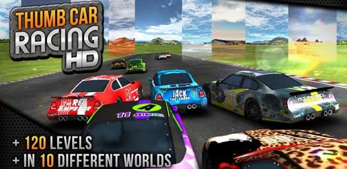 بازی مسابقات ماشین سواری برای اندروید،Thumb Car Racing v1.2.3