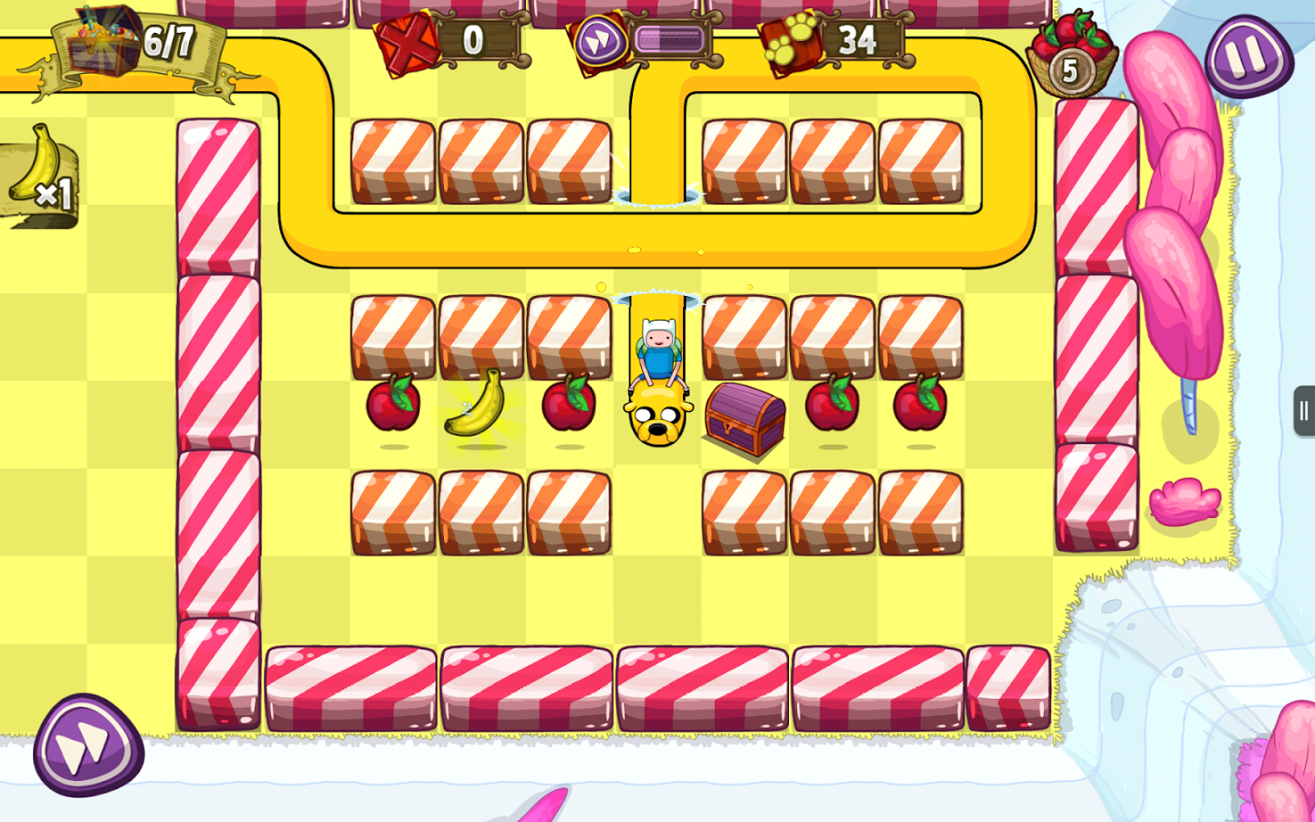 Treasure Fetch: Adventure Time v1.0
