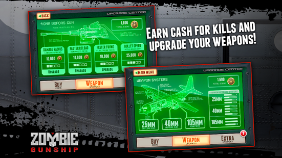 Zombie Gunship: Gun Dead 3D v1.14.4 + data