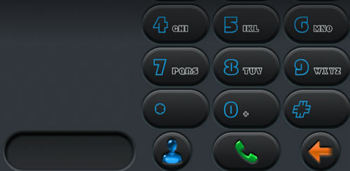 exDialer Carbon Color V2 v1.0.5