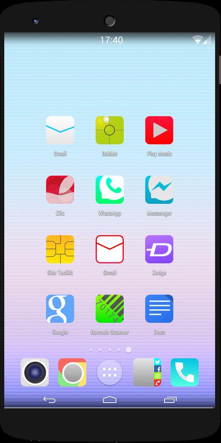 ios8 Quantum icon pack theme v2
