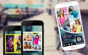 تصویر محیط Video Collage : Photo Video Collage Maker + Music v2.20