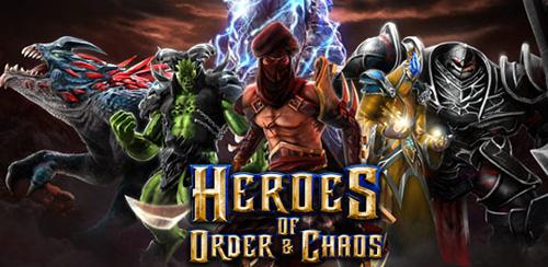 بازی جدید Heroes of Order & Chaos v1.7.1 + data برای اندروید