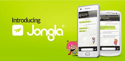 دانلود مسنجر جدید Jongla – Instant Messenger v2.4.0 برای اندروید
