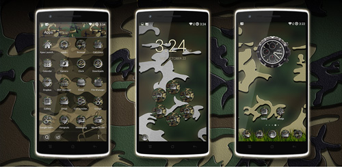 JungleCamo Icon Pack v4.0
