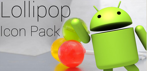 Lollipop Theme Icon Pack v4