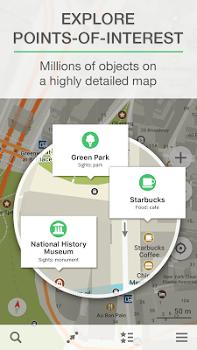 MAPS.ME –Offline Map & Routing v6.4.3 + data