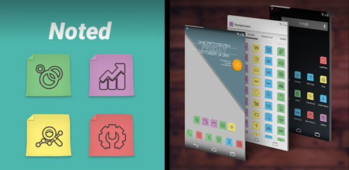 Noted – Icon Pack v1.00