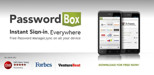PasswordBox Free Password Safe v1.9.8.2