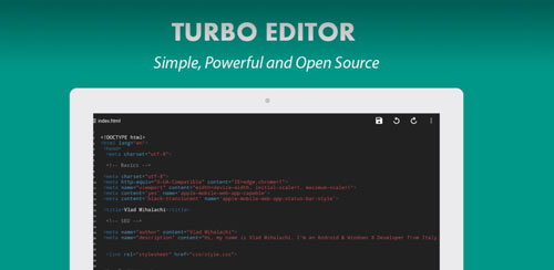 Turbo Editor PRO ( Text Editor ) v2.2.3
