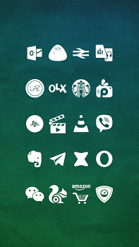 Whicons – White Icon Pack v9.4.6