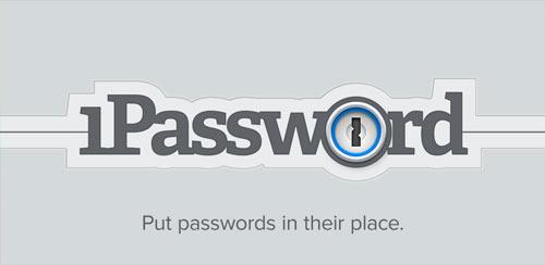 دانلود نرم افزار مدیریت پسورد اندروید 1Password v4.1.3