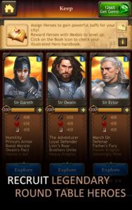 تصویر محیط Kingdoms of Camelot: Battle v20.0.3