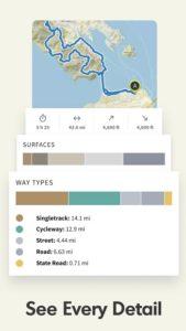 تصویر محیط Komoot — Cycling, Hiking & Mountain Biking Maps v9.6.8