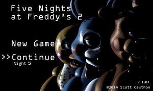 تصویر محیط Five Nights at Freddy's 2 v2.0.1