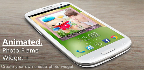 Animated-Photo-Frame-Widget