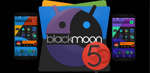 BLACKMoon 5.0 Launcher Theme v1.1