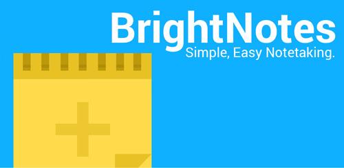 دانلود نرم افزار یادداشت برداری اندروید BrightNotes 1.4.1
