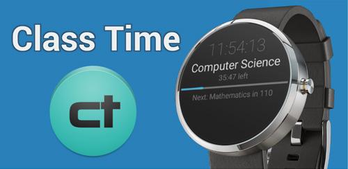 دانلود نرم افزار ساعت های کلاس اندروید Class Time 1.4.3