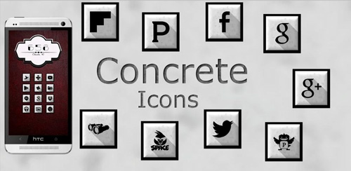 Concrete Icons v1.0