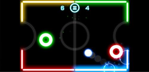 Glow-Hokey