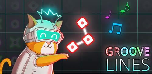 دانلود بازی خطوط شیار اندروید Groove Lines 1.1