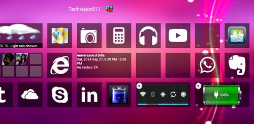 دانلود لانچر ویندوز هشت اندروید Home8+ like Windows 8 Launcher v3.5