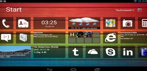 Home 8+ like Windows8 Launcher v4.0